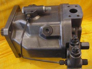 118 kW Hidrolik Piston SAE 4 Delik UNC inç Konu ile A10VSO140 Pompalar