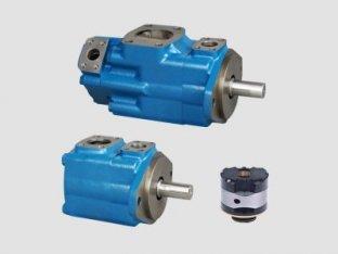 1200 rpm tek Vickers hidrolik paletli pompa ile su içinde yağ emülsiyonları