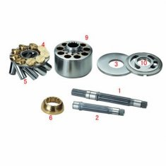 K3v - DT Kawasaki hidrolik pompa parçaları için K3V63 için / 112 / 140 / 180DT