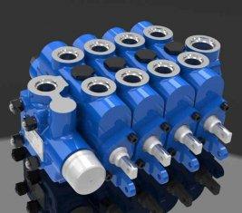 Mühendislik Çok Yönlü Hidrolik Yön Kontrol Vanası 4GCJX-G12L