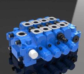 Hidrolik çok yönlü kontrol mühendisliği için 4GCJX-G18L valf