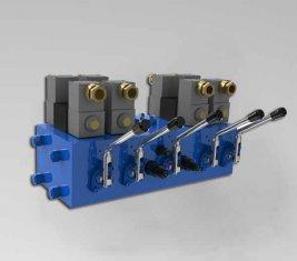 Elektro Hidrolik Yön Kontrol Vanası CMJF20 80/210 lt / dk