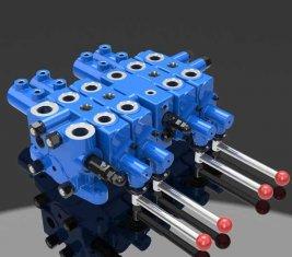 Çok Yönlü Kontrol Vanası DLYS Kontrol Hidrolik Madencilik