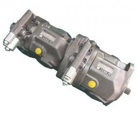 Tork 125 Nm Akış Kontrol Tandem Hidrolik Pompa A10VSO28